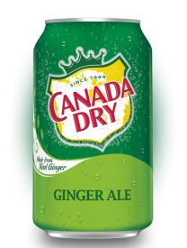 Canada Dry Ginger Ale 0.33л
